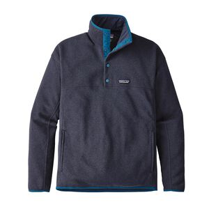 M's Lightweight Better Sweater™ Marsupial Pullover, Navy Blue (NVYB)