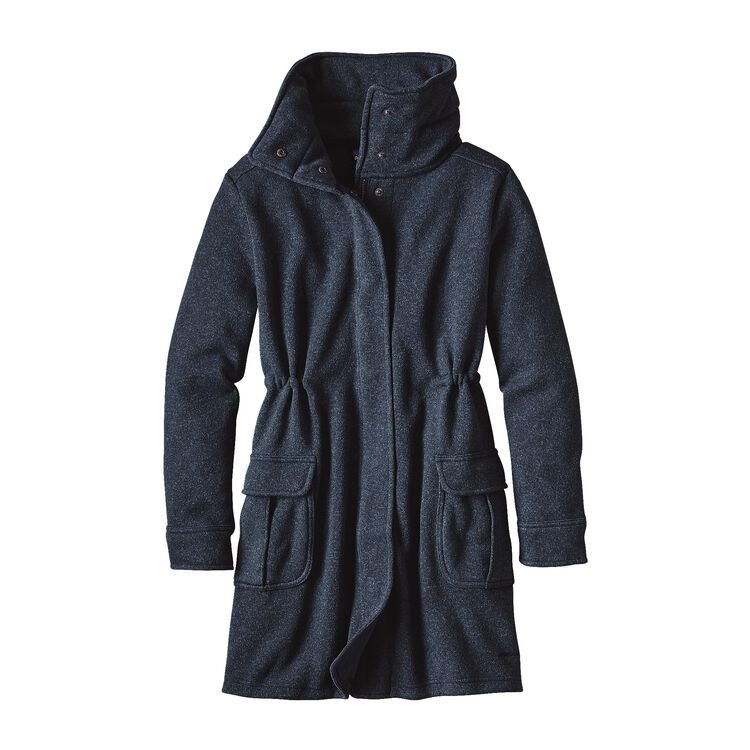 W'S BETTER SWEATER COAT, Classic Navy (CNY)