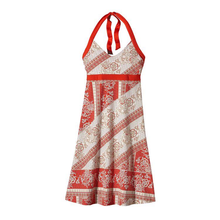 ウィメンズ・イリアナ・ホルター・ドレス, Klarah: Turkish Red (KTRD)