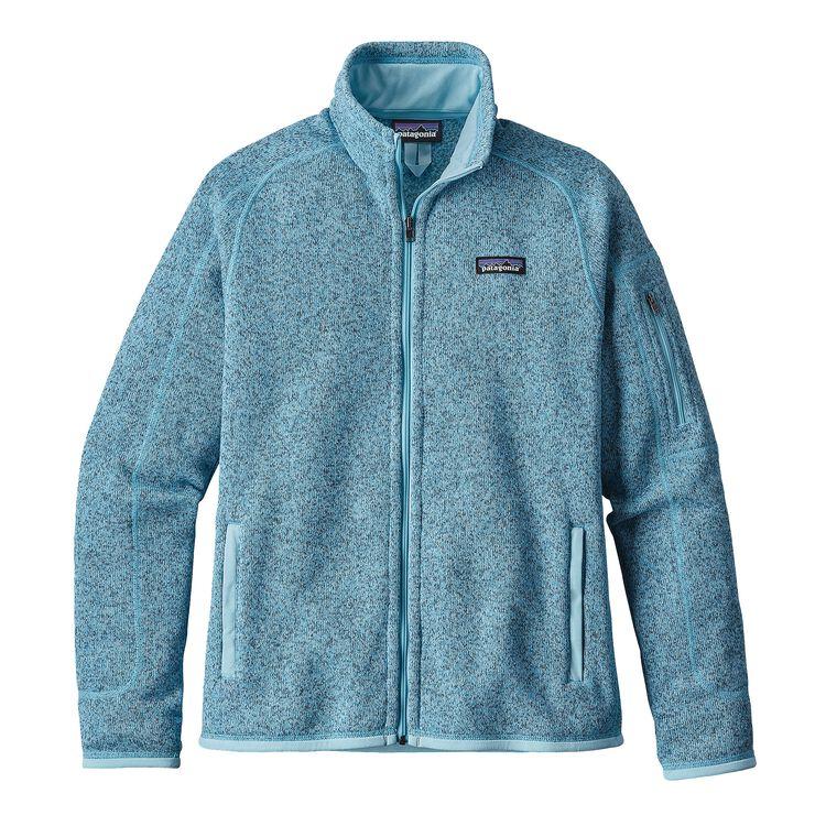 ウィメンズ・ベター・セーター・ジャケット, Cuban Blue (CUBB)