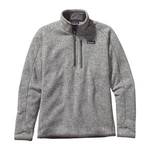 M's Better Sweater™ 1/4-Zip Fleece, Stonewash (STH)