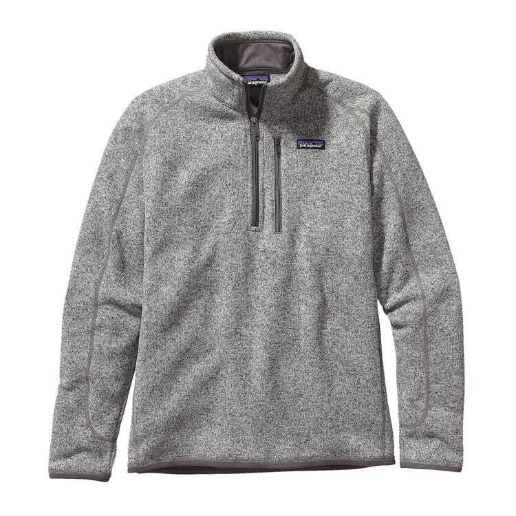 M'S BETTER SWEATER 1/4 ZIP, Stonewash (STH)