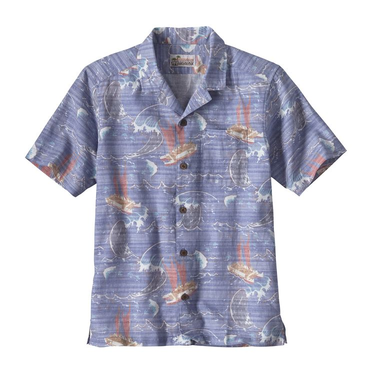 M'S LIMITED EDITION PATALOHA SHIRT, Voyage: Superior Blue (VYSB)