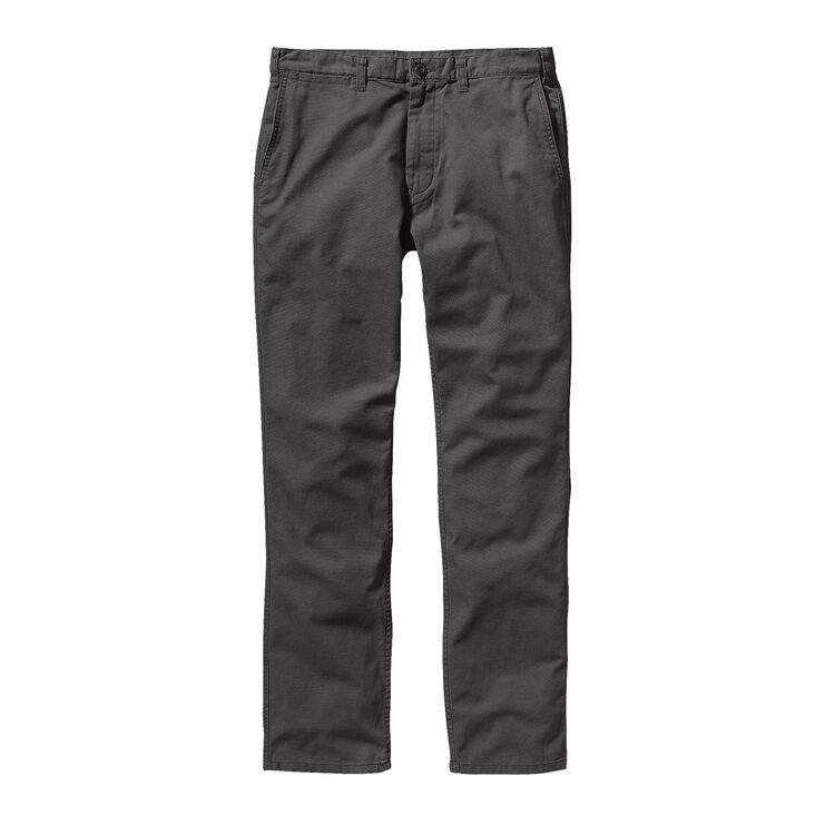 M'S STRAIGHT FIT DUCK PANTS - SHORT, Forge Grey (FGE)