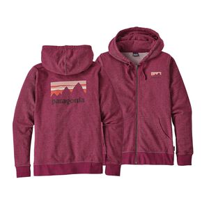 W's Shop Sticker Lightweight Full-Zip Hoody, Magenta (MAG)