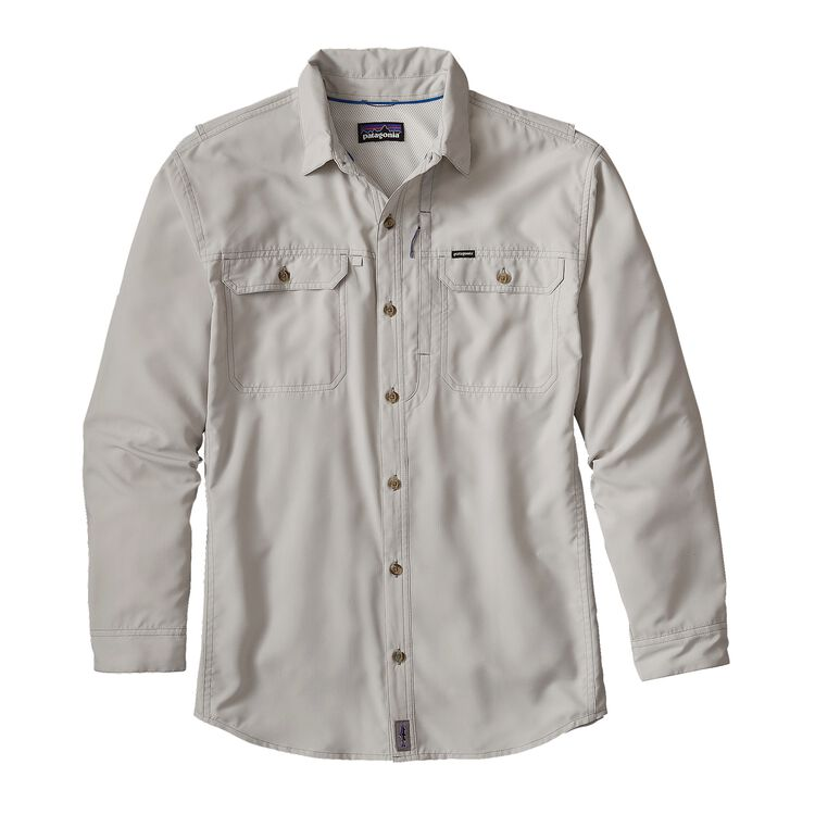 M'S L/S SOL PATROL II SHIRT, Tailored Grey (TGY)