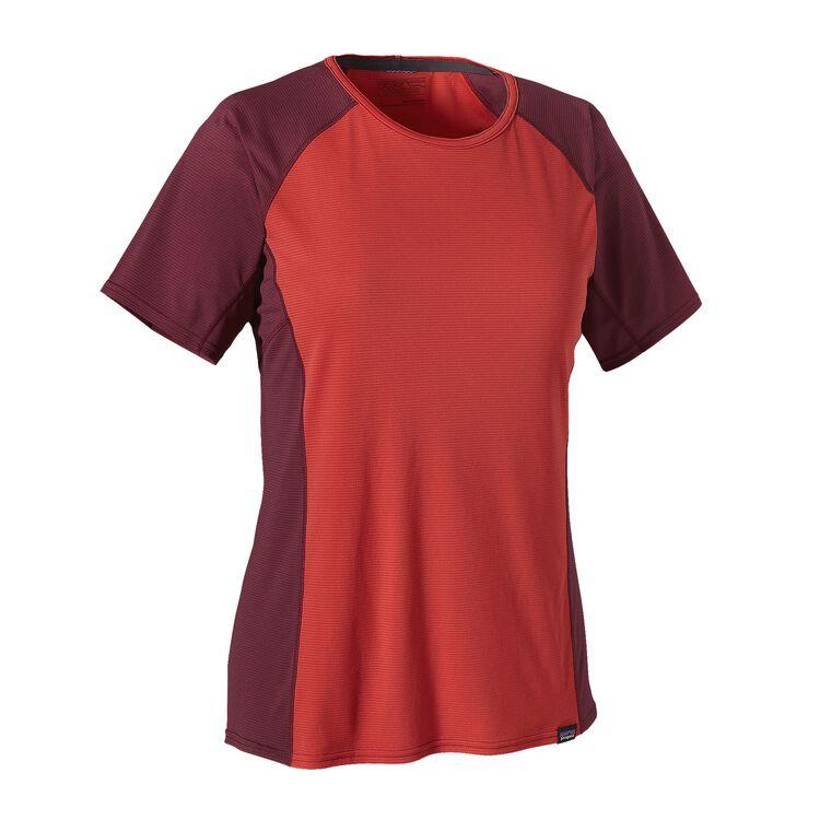 ウィメンズ・キャプリーン・ライトウェイト・Tシャツ, Sumac Red (SUMR)