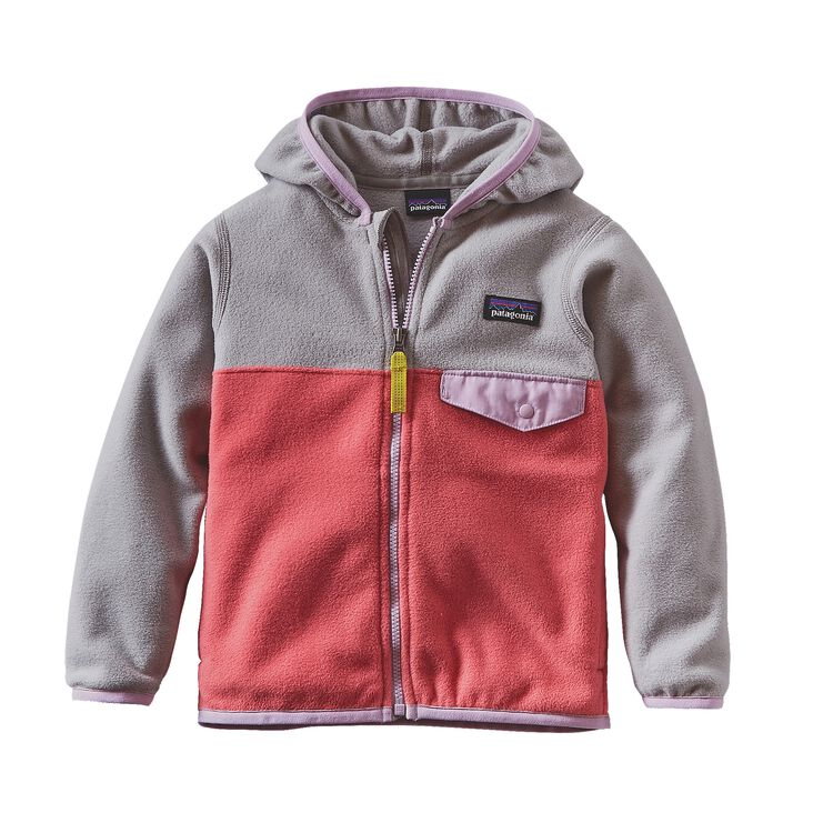 BABY MICRO D SNAP-T JKT, Indy Pink (IDYP)