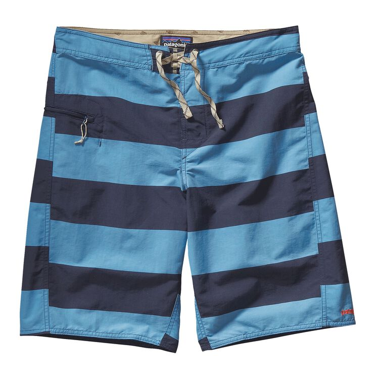 M'S PRINTED WAVEFARER BOARD SHORTS - 21, Alisal Stripe: Catalyst Blue (ACYB)