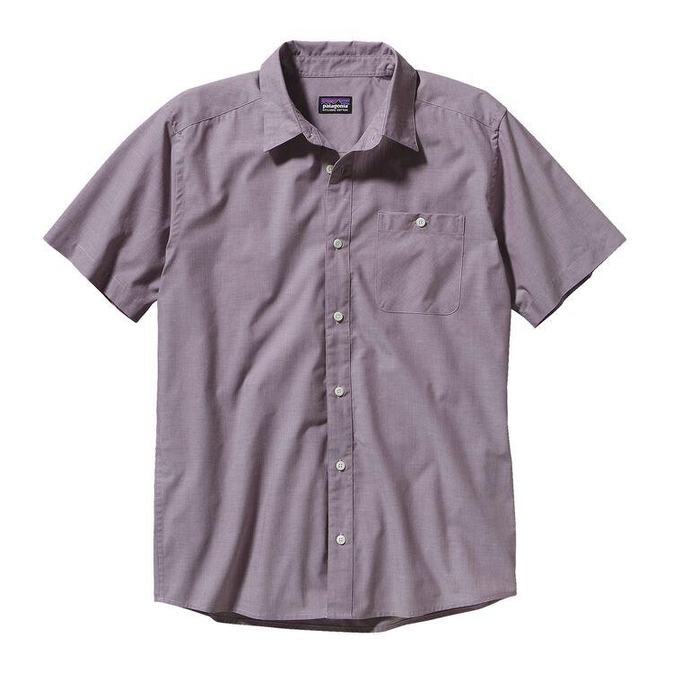 メンズ・ゴー・トゥ・シャツ, Chambray: Tyrian Purple (CTYP)