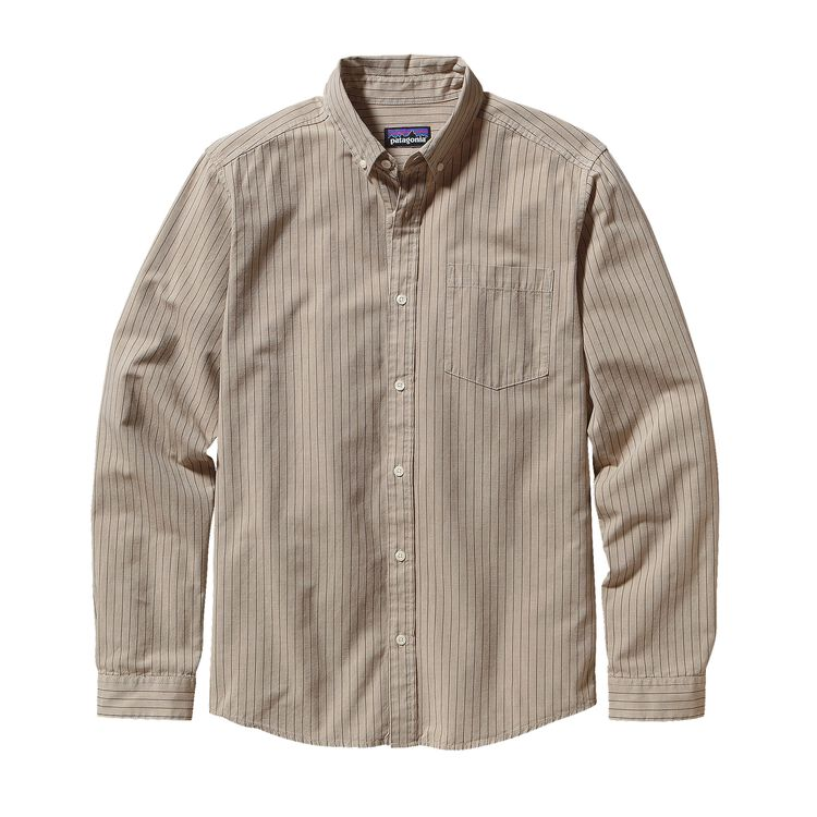 M'S L/S BLUFFSIDE SHIRT, Guild: Bleached Stone (GLBS)
