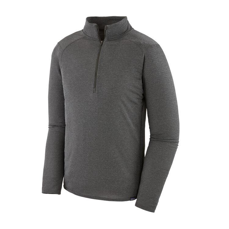 M'S CAP TW ZIP NECK, Forge Grey - Feather Grey X-Dye (FGX)