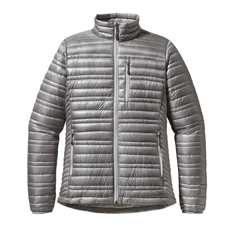 W'S ULTRALIGHT DOWN JKT, Feather Grey (FEA)