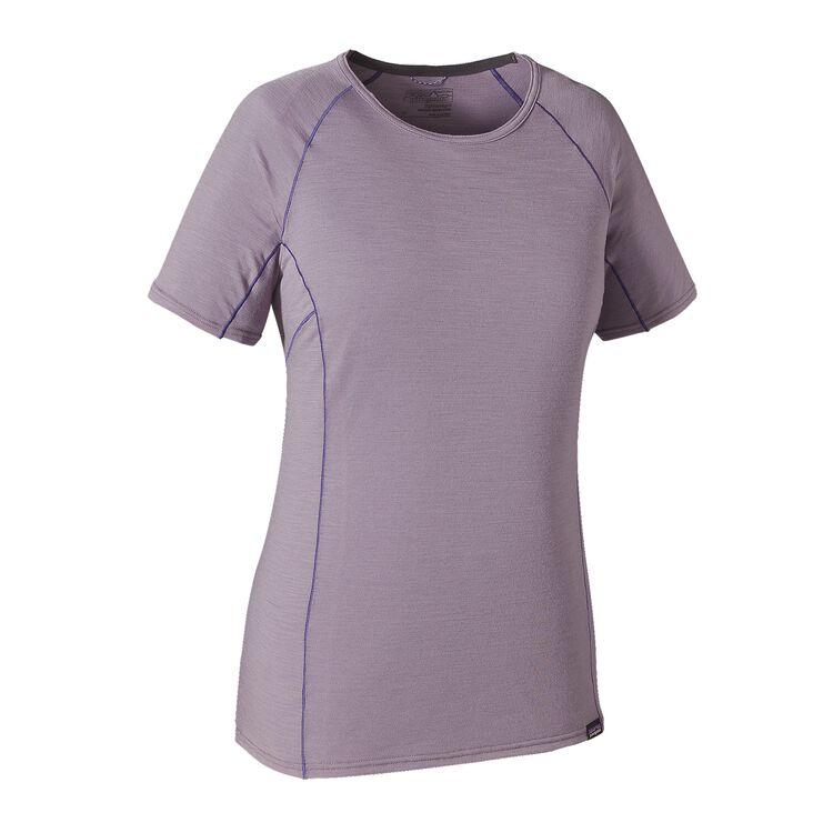 W'S MERINO LW T-SHIRT, Rustic Purple (RSTP)