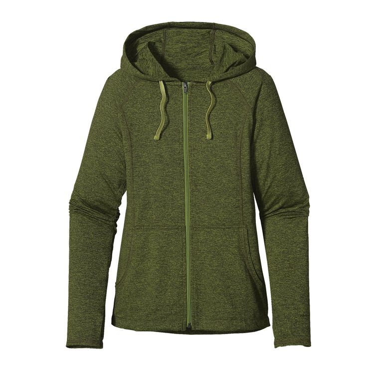 W'S SEABROOK HOODY, Supply Green (SPYG)