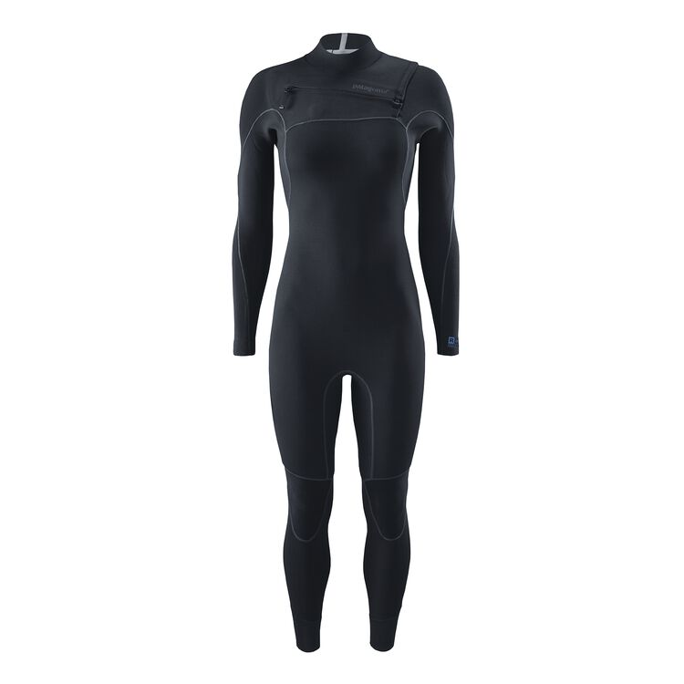 W'S R1 YULEX FZ FULL SUIT, Black (BLK)
