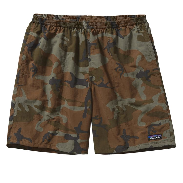 M'S BAGGIES LONGS - 7 IN., Forest Camo: Hickory (FCMH)