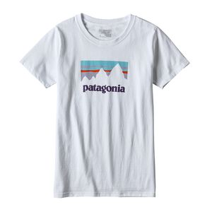 W's Shop Sticker Organic Cotton/Poly Responsibili-Tee®, White (WHI)
