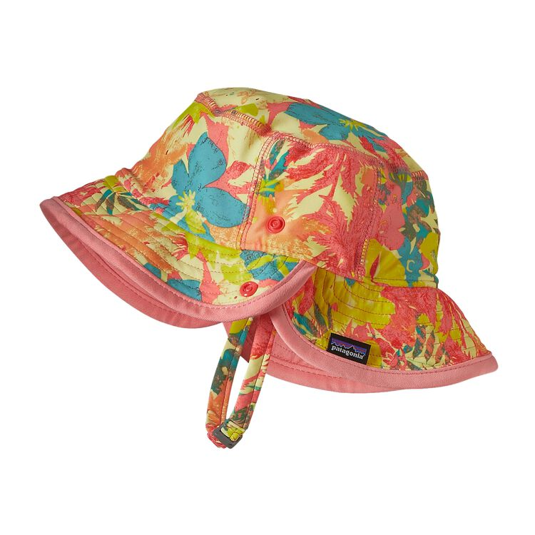 BABY LITTLE SOL HAT, Neo Tropics Lite: Blazing Yellow (NBZY)
