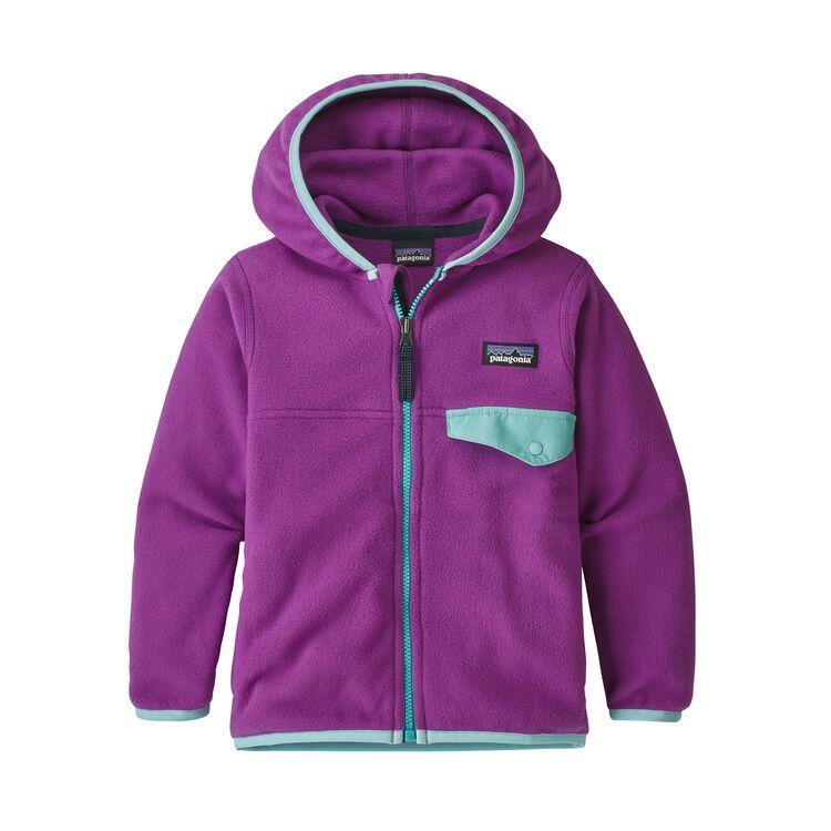BABY MICRO D SNAP-T JKT, Ikat Purple (IKP)