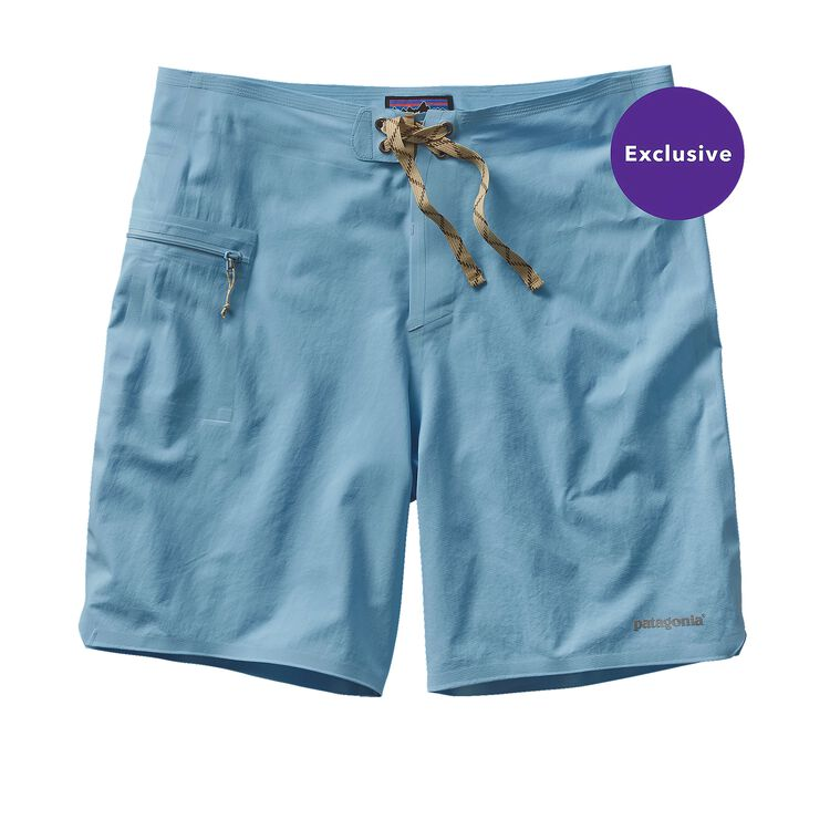 M'S HYDRO PLANING STRETCH BOARD SHORTS -, Lite Electron Blue (LECB)