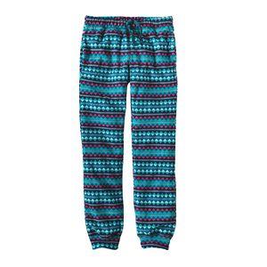 Girls' Micro D™ Snap-T® Bottoms, Diamond Stripe: Magic Pink (DSMP)