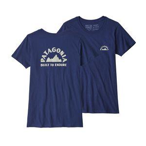 ウィメンズ・ジオロジャーズ・オーガニック・クルー・Tシャツ, Classic Navy (CNY)