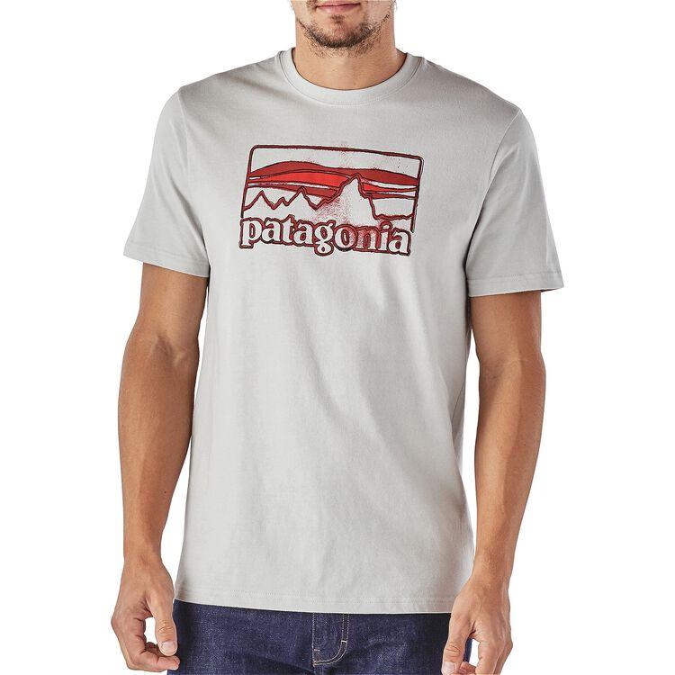メンズ・スプルースド・'73 ロゴ・コットン・Tシャツ,
