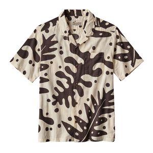 M's Pataloha™ Shirt, Ferns: Ink Black (FNIB)