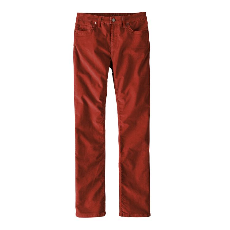 W'S CORDUROY PANTS - REG, Roots Red (RTSR)