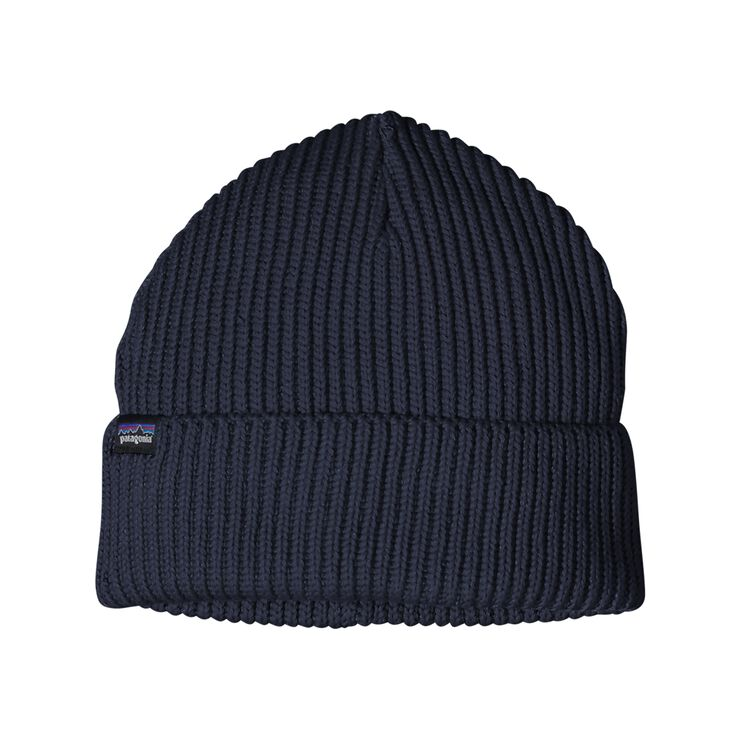 FISHERMANS ROLLED BEANIE, Navy Blue (NVYB)