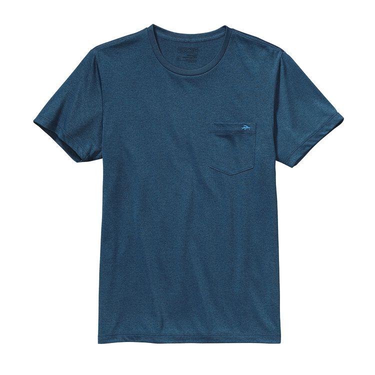 メンズ・フライング・フィッシュ・リサイクル・ポリ・ポケット・レスポンシビリティー, Glass Blue w/Radar Blue (GSRB)