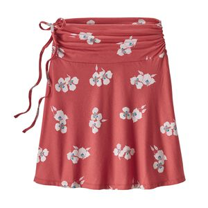 W's Lithia Convertible Skirt, Mariposa Lily: Static Red (MAST)