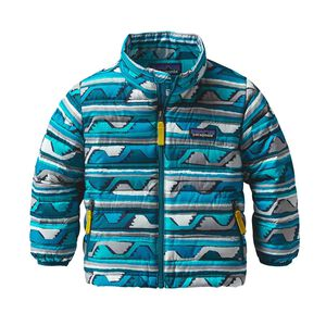 Baby Down Sweater, Delta: Deep Sea Blue (DDSB)