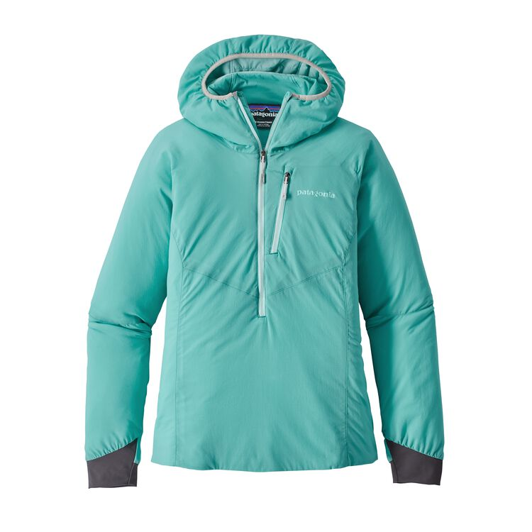 W'S NANO-AIR LIGHT HOODY, Strait Blue (STRB)