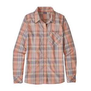 W's Long-Sleeved Havasu Shirt, Wawona Plaid: Peak Pink (WAPP)