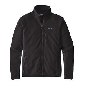 M'S PERFORMANCE BETTER SWEATER JKT, Black (BLK)