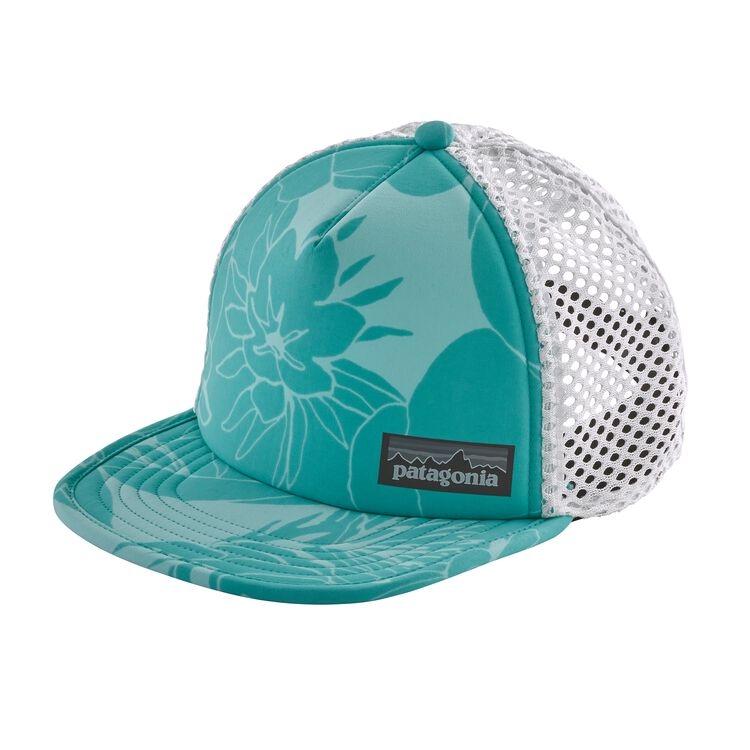 DUCKBILL TRUCKER HAT, Valley Flora: Strait Blue (VFSB)