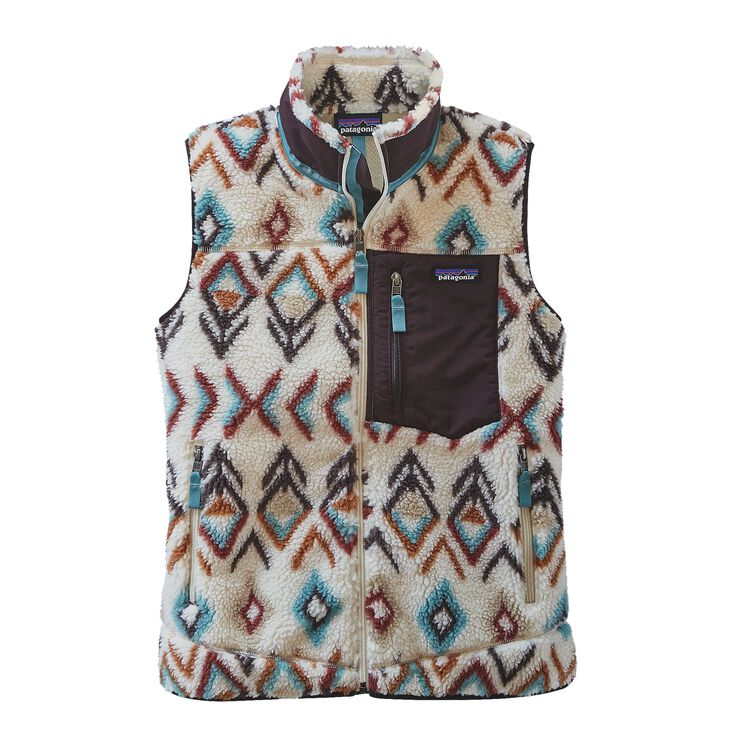 W'S CLASSIC RETRO-X VEST, Fern Dell: Natural (FDNT)