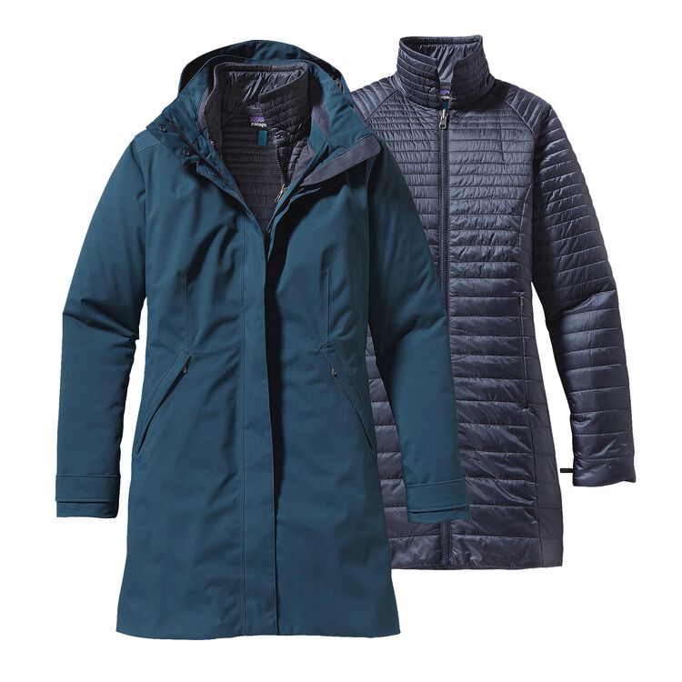 W'S VOSQUE 3-IN-1 PARKA, Smolder Blue (SMDB)