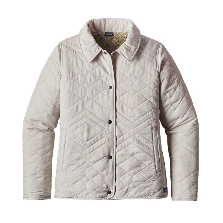 W'S QUILTED LOS GATOS JKT, Bleached Stone (BLST)