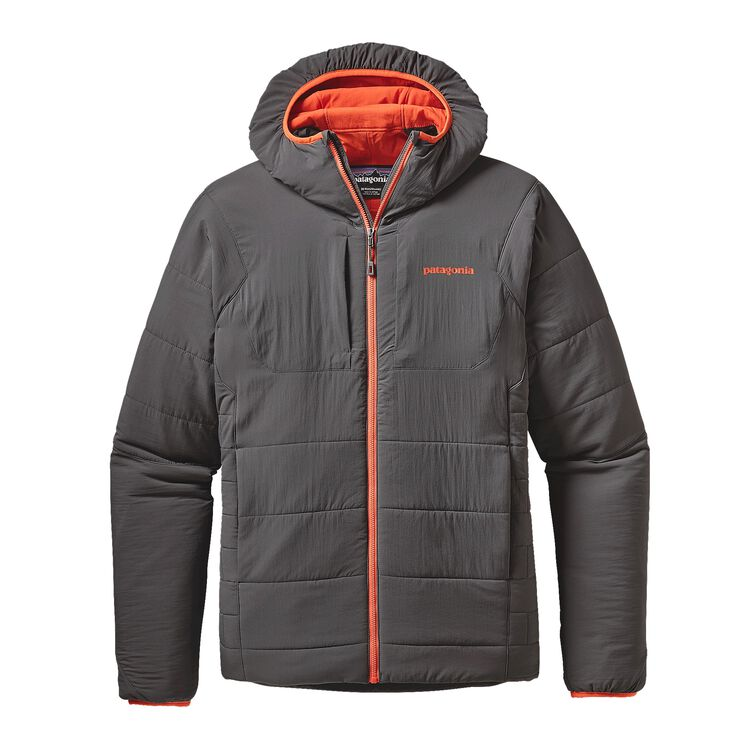 M'S NANO-AIR HOODY, Forge Grey w/Cusco Orange (FGCO)