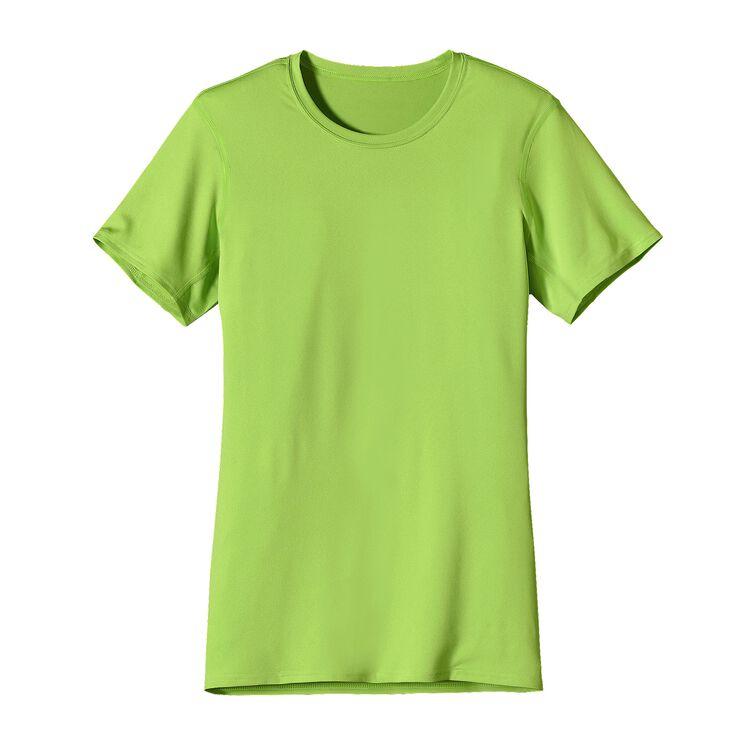 W'S CAP TEAM T-SHIRT, Lime Green (LMGN)