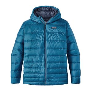 M's Hi-Loft Down Hoody, Big Sur Blue (BSRB)