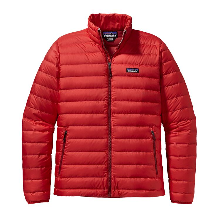 M'S DOWN SWEATER, French Red (FRR)