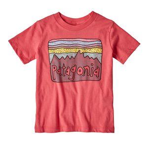 ベビー・フィッツロイ・スカイズ・オーガニック・Tシャツ, Sierra Pink (SRAP)