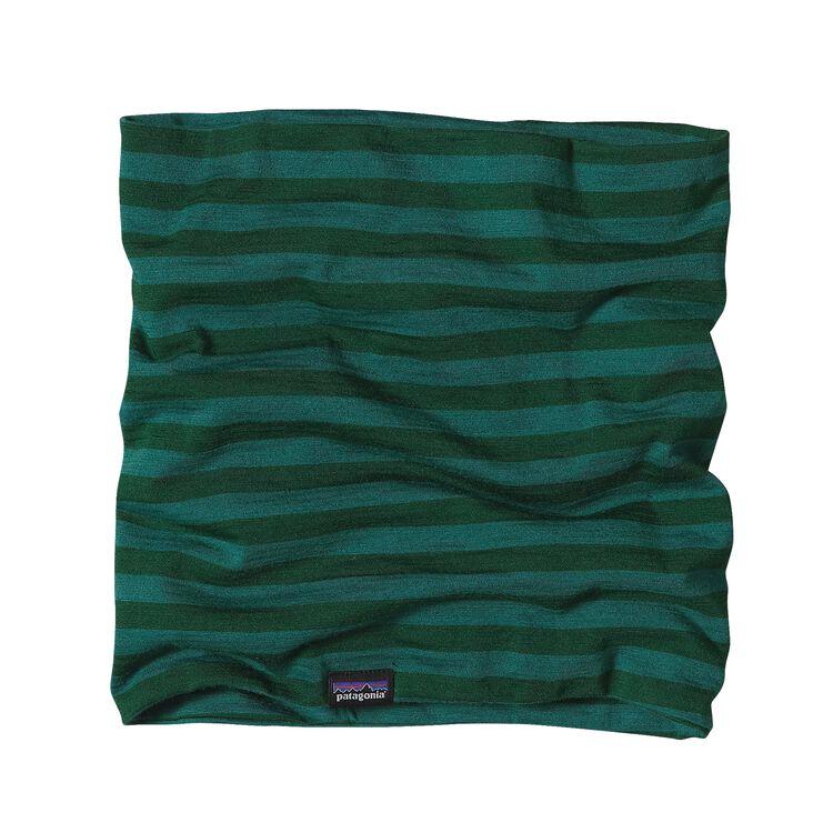 メリノ・ミッドウェイト・ネックゲイター, Pearson Stripe: Hunter Green/Arbor Green (PHTG)