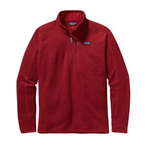 M's Better Sweater™ 1/4-Zip Fleece, Classic Red (CSRD)