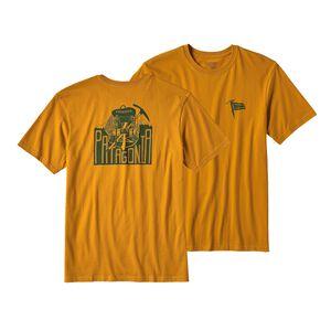 メンズ・ユースレス・コンクエスト・コットン・Tシャツ, Ysidro Yellow (YSDY)