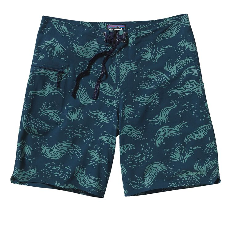 M'S HYDRO PLANING STRETCH BOARD SHORTS -, Merchant: Crater Blue (MCTB)